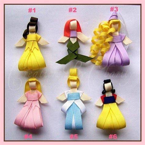 Dress Ribbon Charity 1 disney princess hair bow ribbon by from