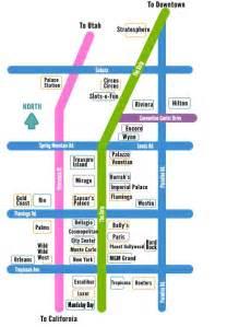 Las Vegas Strip Maps by Las Vegas Strip Map Take Me There Pinterest