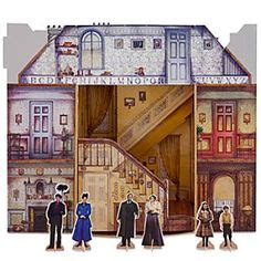 dollhouse 2 broadway poppins on poppins paper doll house