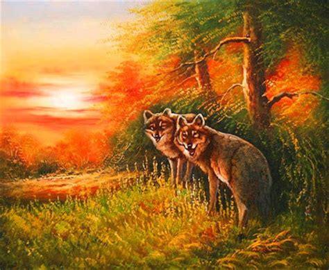 imagenes animales y paisajes im 225 genes arte pinturas paisajes con animales
