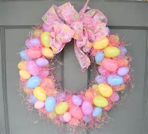 Easter Wreath Easter Egg Wreath The Diy Queen