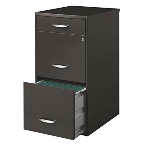 lorell 14341 18 deep 2 drawer file cabinet black office designs 3 drawer vertical file cabinet best price