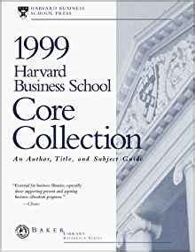 Hbs Mba Books by Harvard Business School Collection An Author Title
