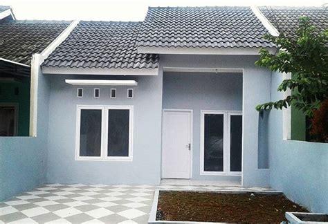 warna cat exterior rumah  bagus
