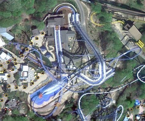 theme google earth cool google earth shot of griffon general theme park