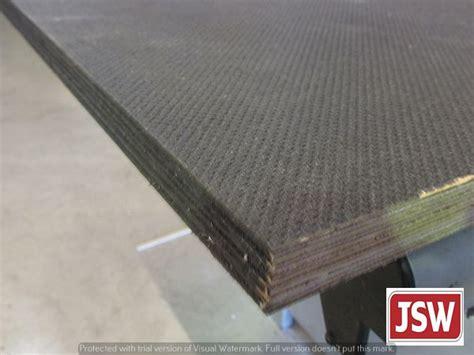 Phenolic Trailer Flooring by Wisa Deck Flooring 2 5m X 1 25m X 12mm Trailer Flooring