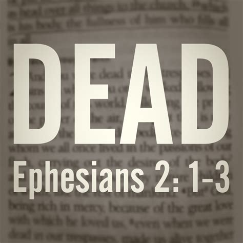 generation sons redeeming the power of the air journal ii volume 2 books what does it to be dead in ephesians 2 1 3