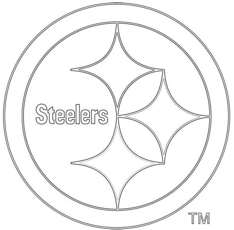 nfl symbols coloring pages pinterest the world s catalog of ideas