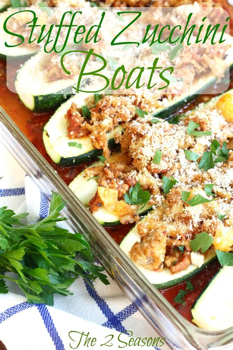 stuffed zucchini boats allrecipes the 2 seasons the mother daughter lifestyle blog