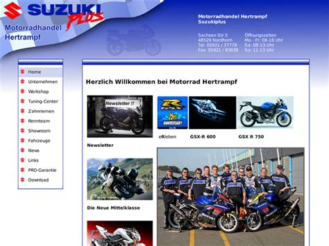 Motorradhandel Bremen by Motorradhandel Hertrf In Nordhorn Motorradh 228 Ndler