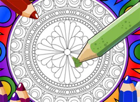 mandalas coloring book app app shopper mandala coloring pages catalogs