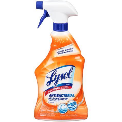 Kitchen Cleaner by Lysol Power Kitchen Cleaner Spray 22 Fl Oz Jet