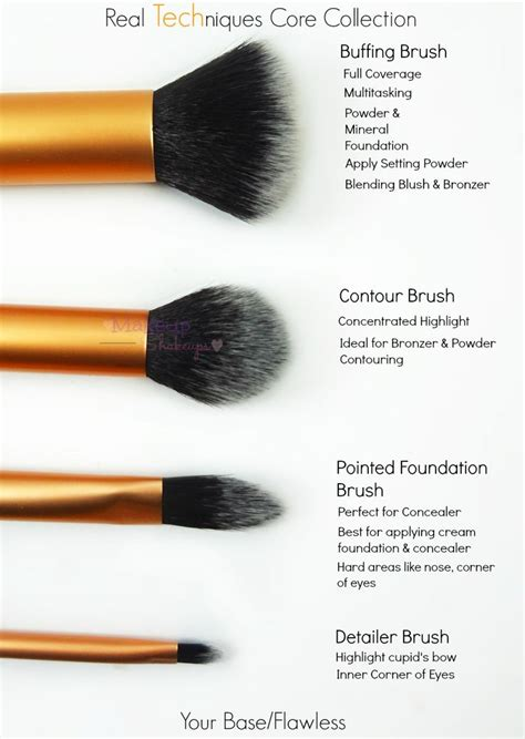 real techniques contour brush newhairstylesformen2014 com makeup shakeups real techniques your base flawless core