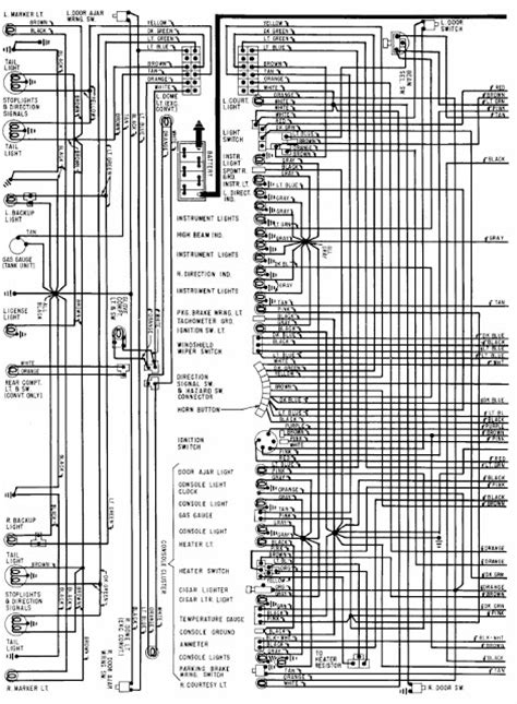 1968 Chevrolet Corvette Power Seat Wiring Diagram | All