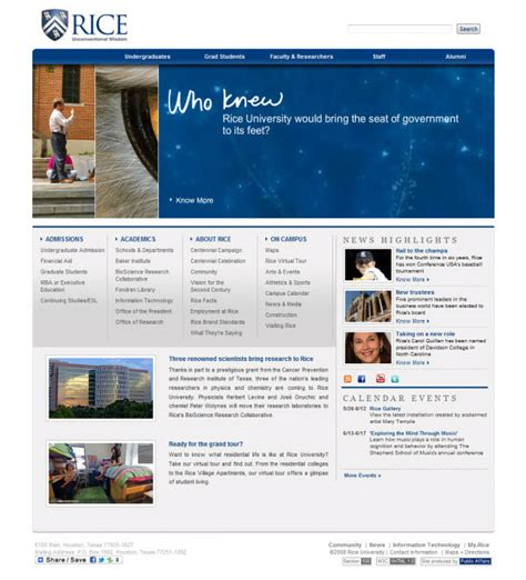 Rice Mba Program Requirements by Showcase Of Beautiful Websites Hongkiat