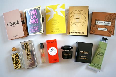 Free Perfume Giveaway - the perfume society discovery box review giveaway thou shalt not covet
