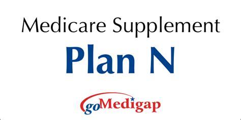 supplement f medicare medigap plan n is the 3rd most popular supplement plan