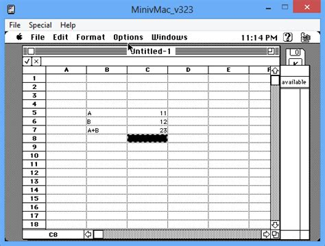 Html5 Spreadsheet by Md S Technical Exploring Mac Software On Mini
