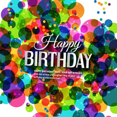 free birthday website templates template birthday greeting card vector material 10
