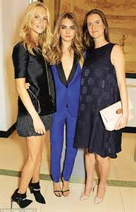 chloe delevingne   shes stepping    shadow   sisters  talk
