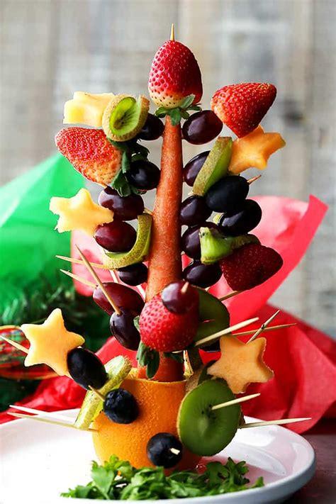 christmas tree with berries fruit tree diethood