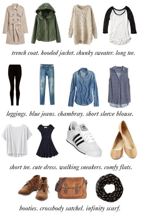 Basic Wardrobe Items by Travel Capsule 15 Basic Clothing Items That Can Be Mixed And Matched Picmia