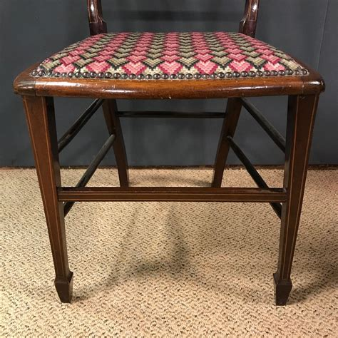 pretty satinwood inlaid bedroom chair antique chairs hemswell antique centres edwardian inlaid mahogany bedroom chair antique chairs