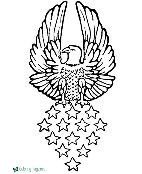 pictures for coloring eagle coloring pages