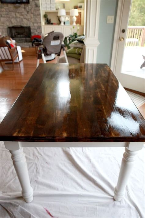 how to stain a dining room table 25 best ideas about dining table redo on pinterest