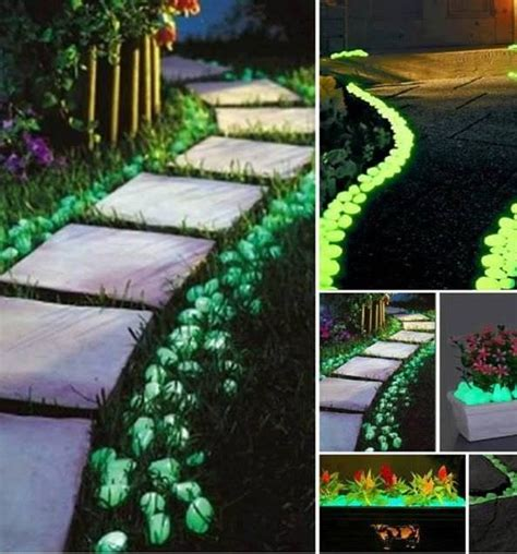 glow in the paint landscaping most irresistible diy garden ideas anyone can do balcony