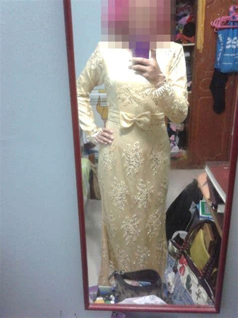 Baju Kurung Kuning Air e z m l i z faeizma wedding tudung dan baju nikah