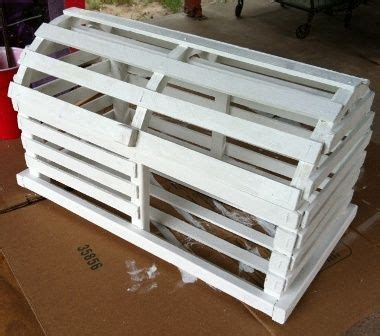 DIY Lobster Trap Card Box   Weddingbee Do It Yourself