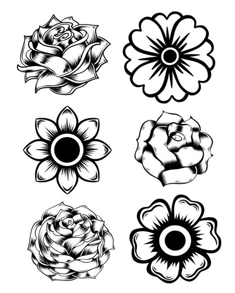 dead flower coloring page 772 best svg images on pinterest silhouettes silouette