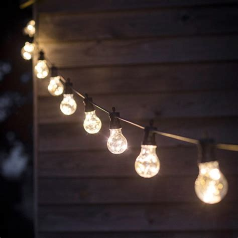 A String Of festoon lights string of 10