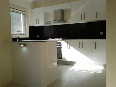 splashback ideas white kitchen satin finish polyurethane white kitchen black and white