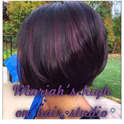 diferent hair highlights for older women best 25 red violet highlights ideas on pinterest violet