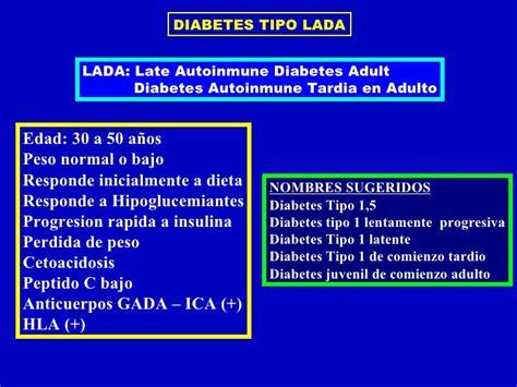 Diabetes Lada 1 Diabetes Clase 2011