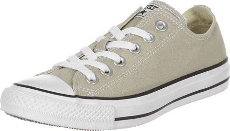 beige converse sneakers converse all ox shoes beige