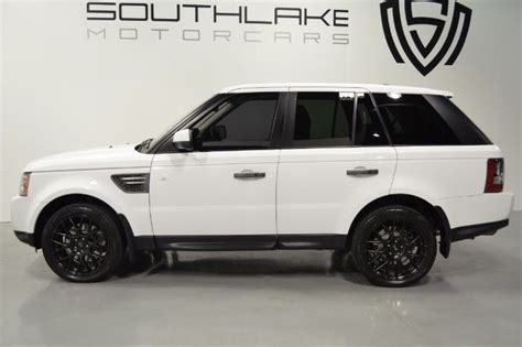 airbag deployment 2011 land rover range rover engine control 2011 range rover sport hse lux white on black clean carfax excellent cond
