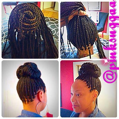 braids perimeter braided bun box braids braid me beautiful braids box braids hair styles