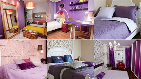 decorar dormitorio lila color morado o lila para dormitorios hogarmania