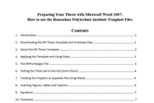 Microsoft Office Table Of Contents Template by Save Table Of Contents Template Word 2010 Cover Letter