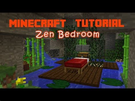 how to build stys bedroom youtube minecraft how to make a zen bedroom youtube