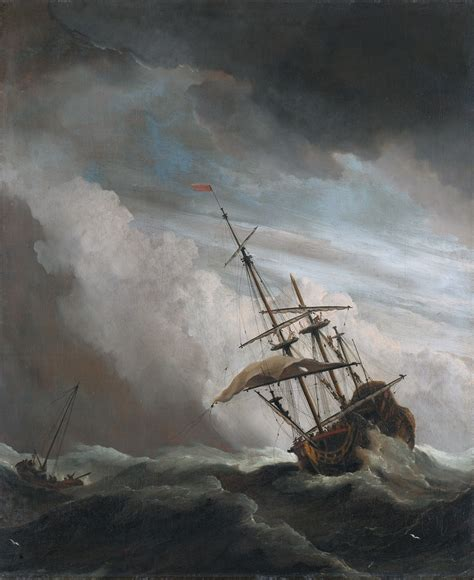 schip in storm file de windstoot a ship in need in a raging storm