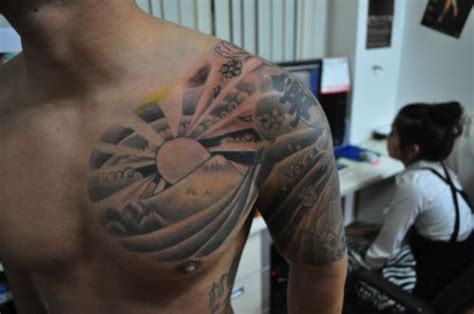 japanese sunrise tattoo designs japanese rising sun design search