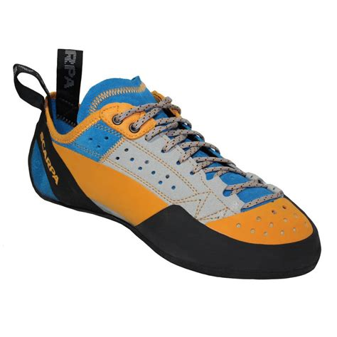 rock climbing shoes uk scarpa techno x s rock climbing shoe uk 9 silver azure