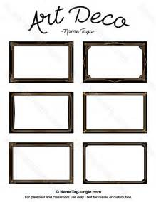 free deco templates free printable deco name tags the template can also
