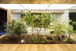 inside garden indoor garden loft style home in terrassa spain