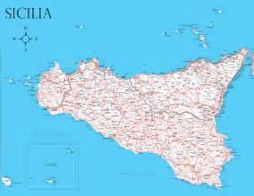 shelley truss map of sicilia sicily