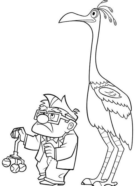 up coloring page coloring home